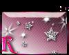 *R* Silver Stars Sticker