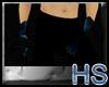 (HS) Rave Hands Blue V1
