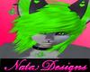 natas wolf furry green