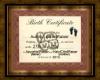 Aubrey Birth Certificate