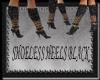 [FCS] Shoeless Heels Blk