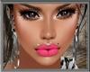 Pink Lip Lashes