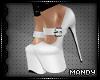 xMx:White High Heels