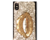 ~Gold Lip Iphone X~
