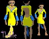 Yellow Baby Dress