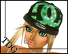 !TDG* F DC Hat Blk&Grn