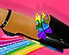 rainbow pride heels <3