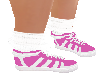 Bright Pink Sock Shoe