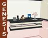 EbonySpring Office Desk