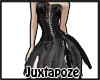 Black Feather Dress