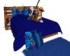 blue blankey bed