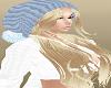 BLond Hair Pompom Hat