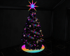 CD Neon Christmas Tree