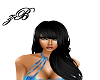 Selena Black Hair
