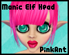Manic Elf Dream Head