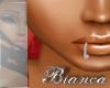 diamond lip ring