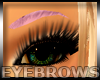 Nice Pink Eyebrows