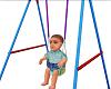 Baby Boy Adam in Swing