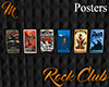 [M] Rock Club Posters