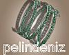 [P] Boho green bracelet
