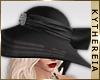 K  Elegant Wide Brim Hat