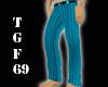 Turquoise Suit Pants