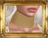 Angelis Choker Gold