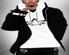 Jacket Black/White CG