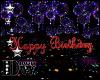 D- Happy Birthday Sign