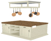 :) Kitchen Island White