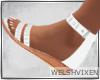 WV: White Sandals