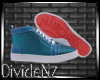 :D Louis Jeweled Blue W