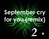 Cry for You - Remix 2
