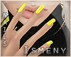 [Is] Nails Yellow
