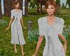 TF* Gray Modest Dress