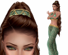 Harem Genie Hat Green