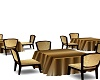 gold group table for 4