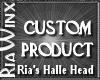Wx:Custom Halle Head