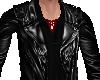 black leather jacket mal