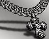 Cross Iced Chain