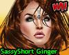SassyShort Ginger