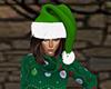 Green Santa Hat (F)