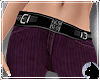 !Cord Jeans Plum red