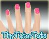 Perfect Short Pink Nails