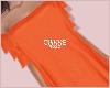 Sunny frills orange