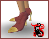 *Gold Tip Rose Boots