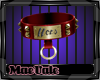 Hers Collar Red M
