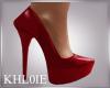 K sue red heels