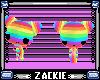 flashy rainbow kitties !
