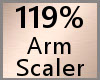 Arm Scaler 119% F A